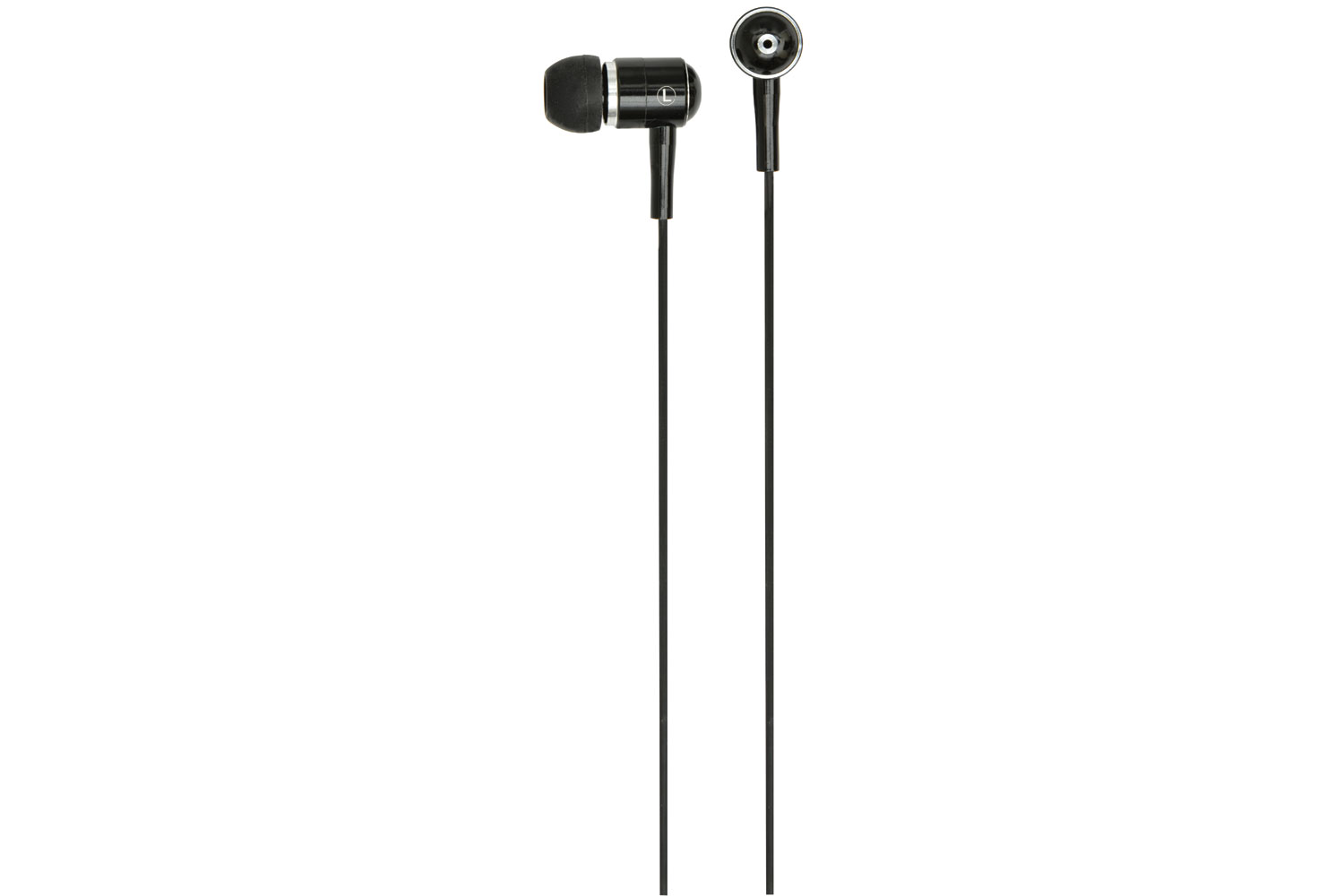 HQ2B Metal In-ear Earphones, Black