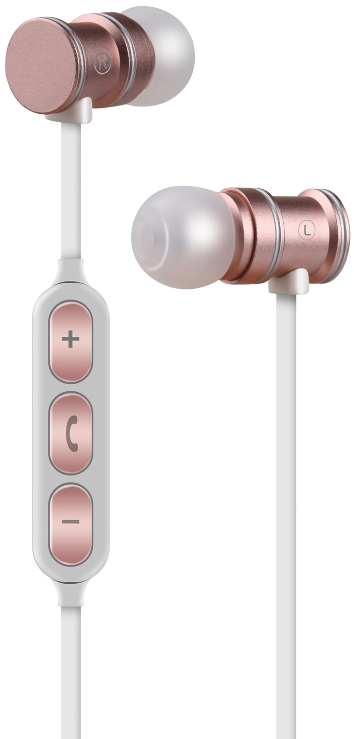 Magnetic Bluetooth Earphones Rose