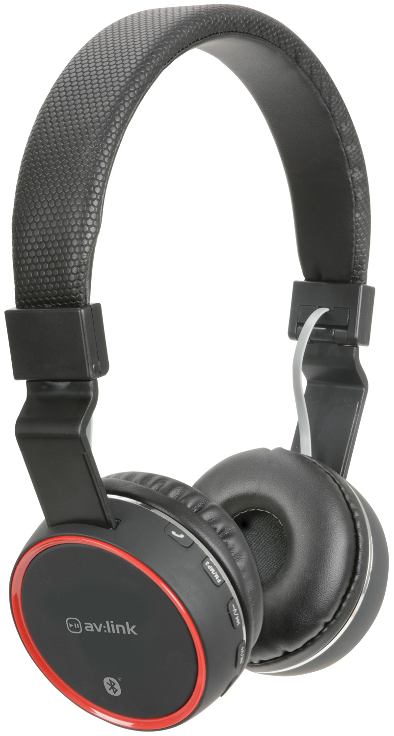 avlink Wireless Bluetooth® Headphones Black