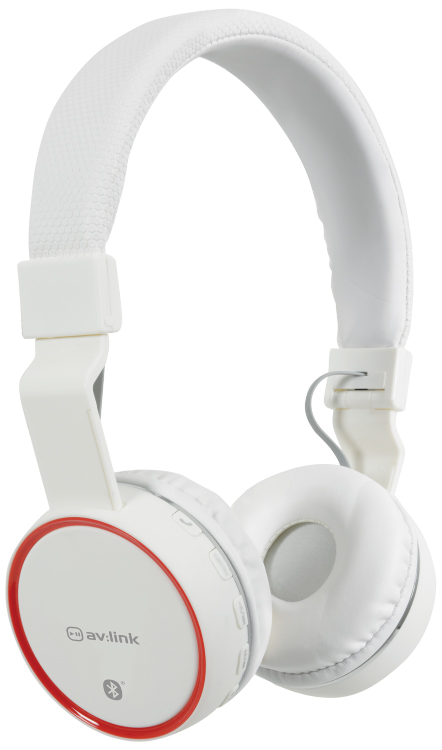 avlink Wireless Bluetooth® Headphones White