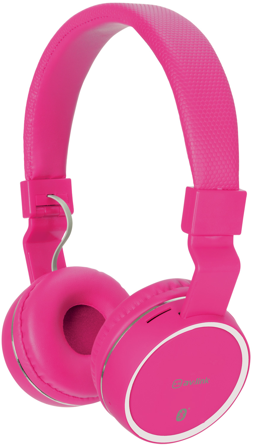 avlink Wireless Bluetooth® Headphones Pink