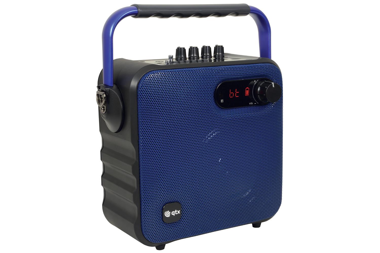 Portable Bluetooth PA Blue