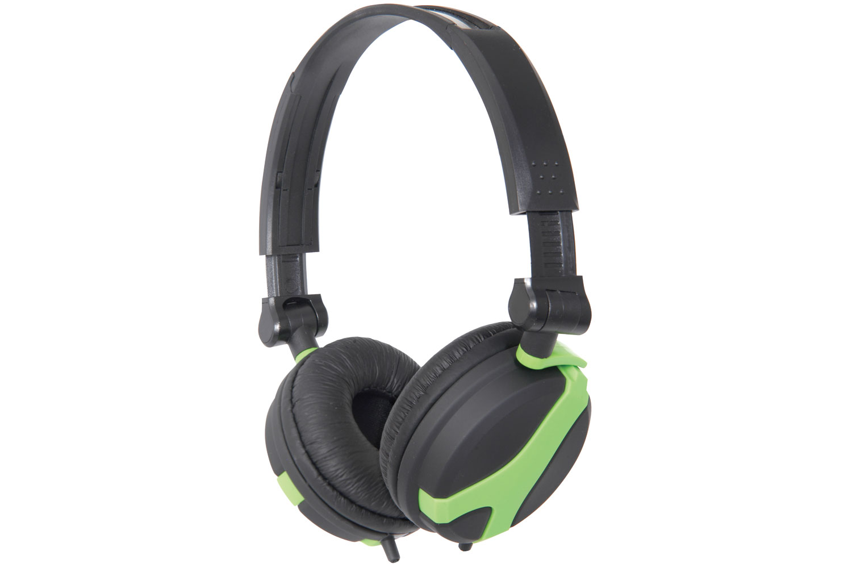 Stereo Green Foldable Headphone QX40G