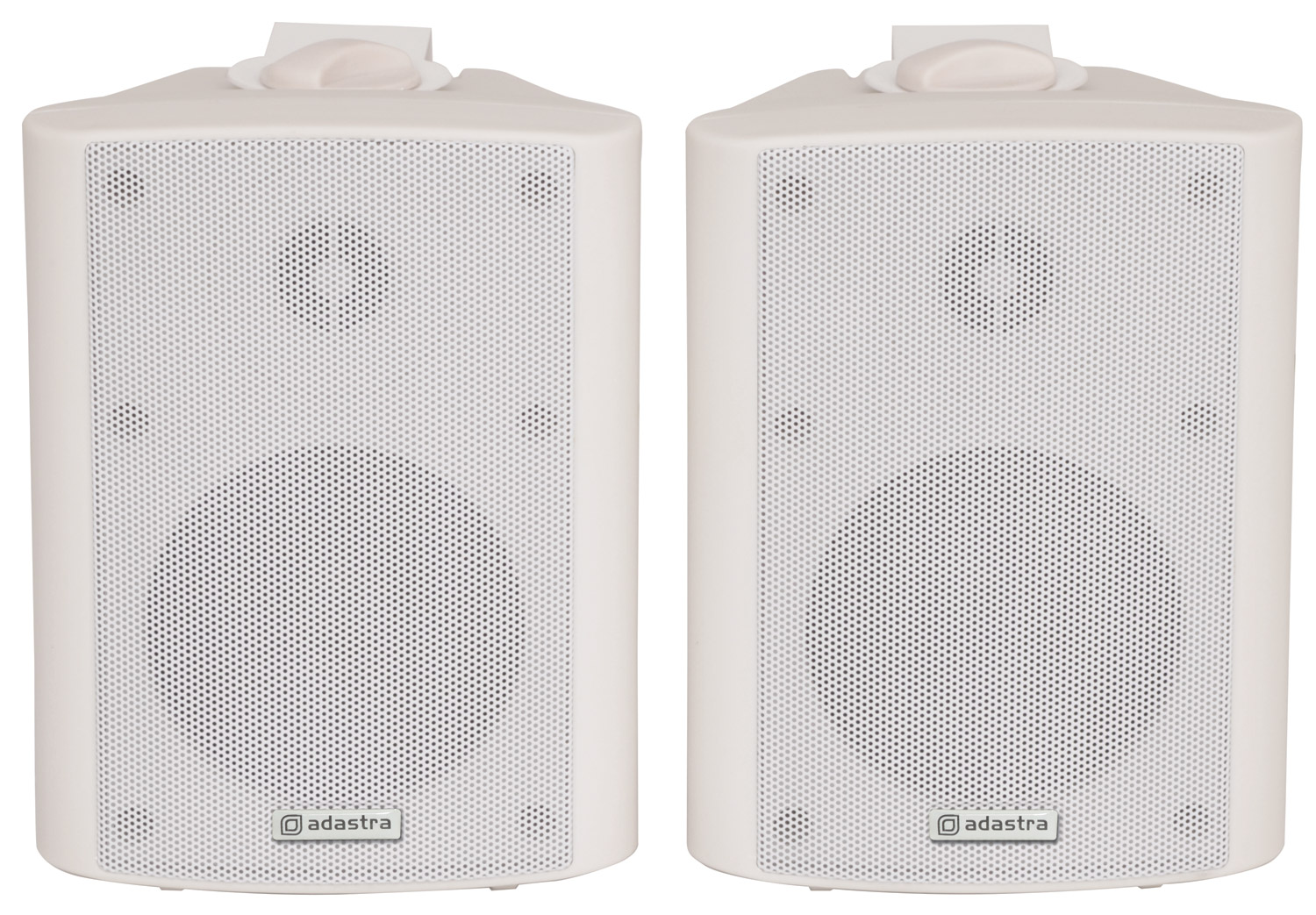 100901 BC4W Loudspeakers 4in White Pair