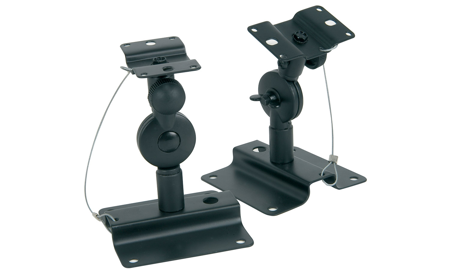 Adjustable speaker brackets - adjustable in 2 directions