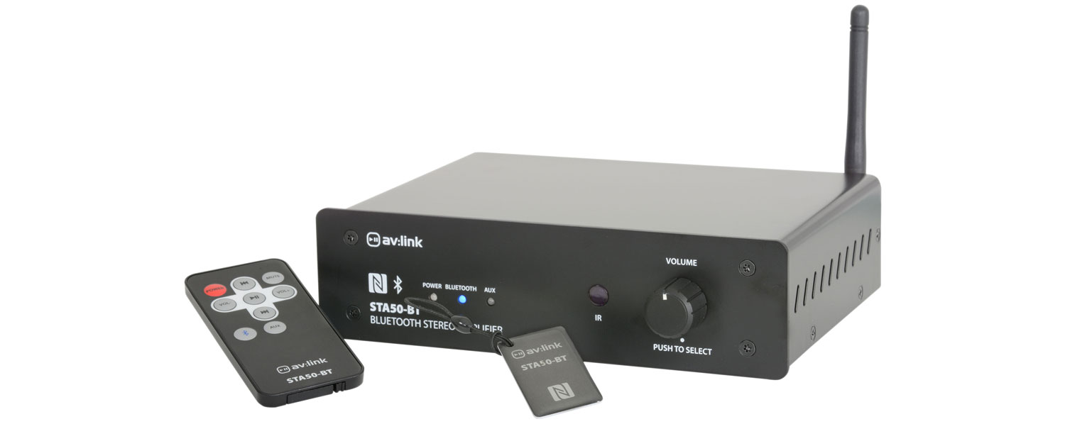 "STA50-BT Stereo Amplifier with Bluetoothâ""¢"