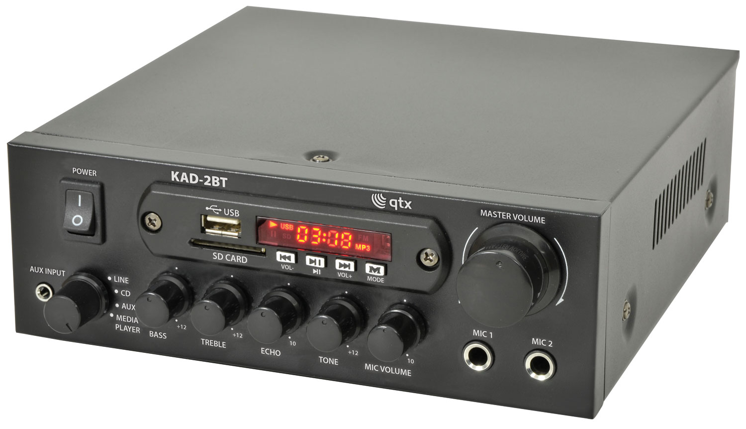 QTX KAD-2 DIGITAL STEREO AMPLIFIERKAD-2BT DIGITAL STEREO AMPLIFIER with BLUETOOTH