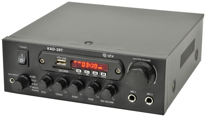 QTX KAD-2 DIGITAL STEREO AMPLIFIERKAD-2BT DIGITAL STEREO AMPLIFIER with BLUETOOTH