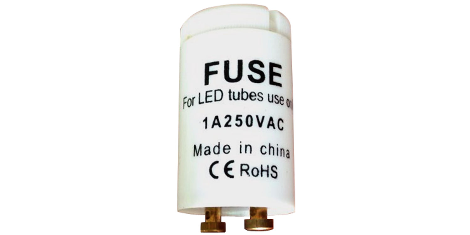 Universal starter for LED tube replacement