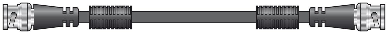 BNC plug to plug lead 1.5m