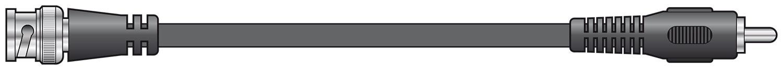 BNC plug to RCA plug lead 1.5m