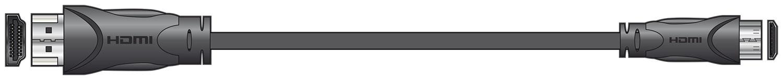 HDMI Leads Mini Type C 1.0m
