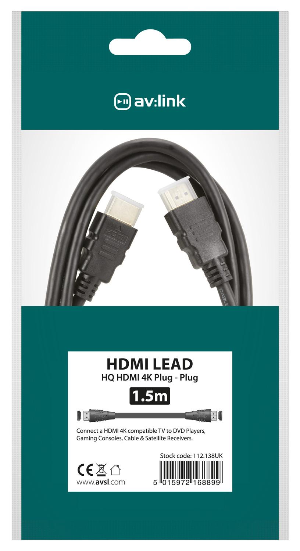 Hdmi lead