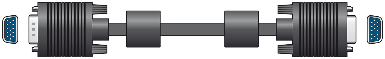 High Quality VGA Lead Plug to Plug 2.0m