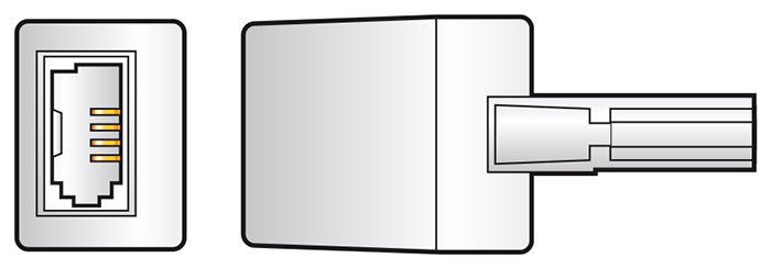 In-line UK Telephone Noise Filter