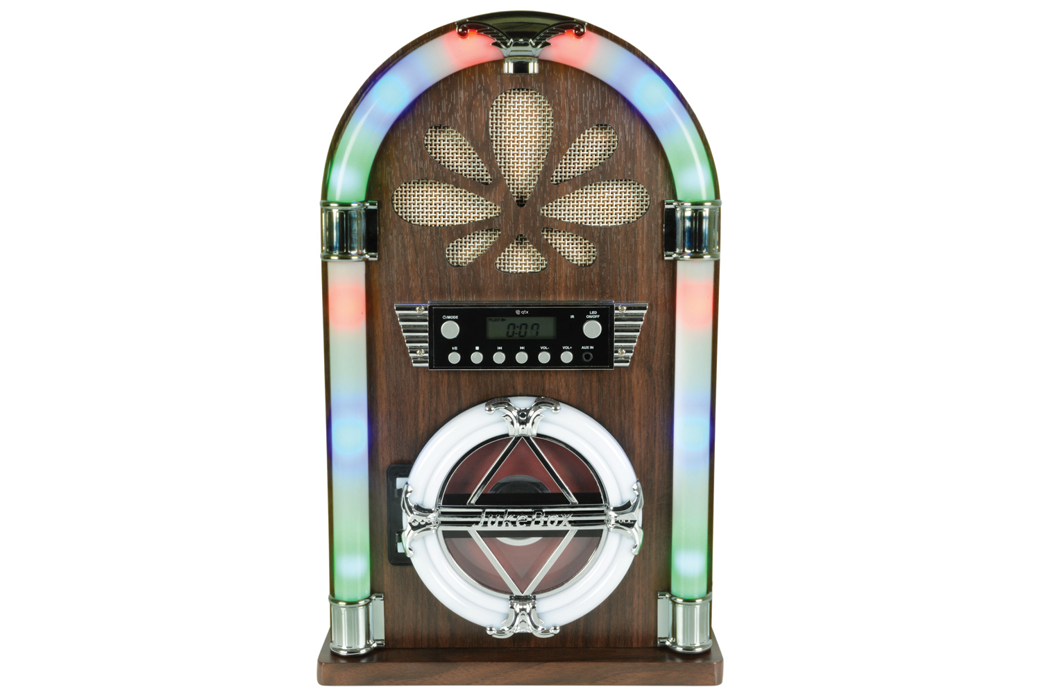 Bluetooth Jukebox with CD Player and FM Radio