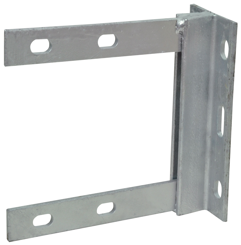 6 x 6 inch galvanised wall bracket- bulk