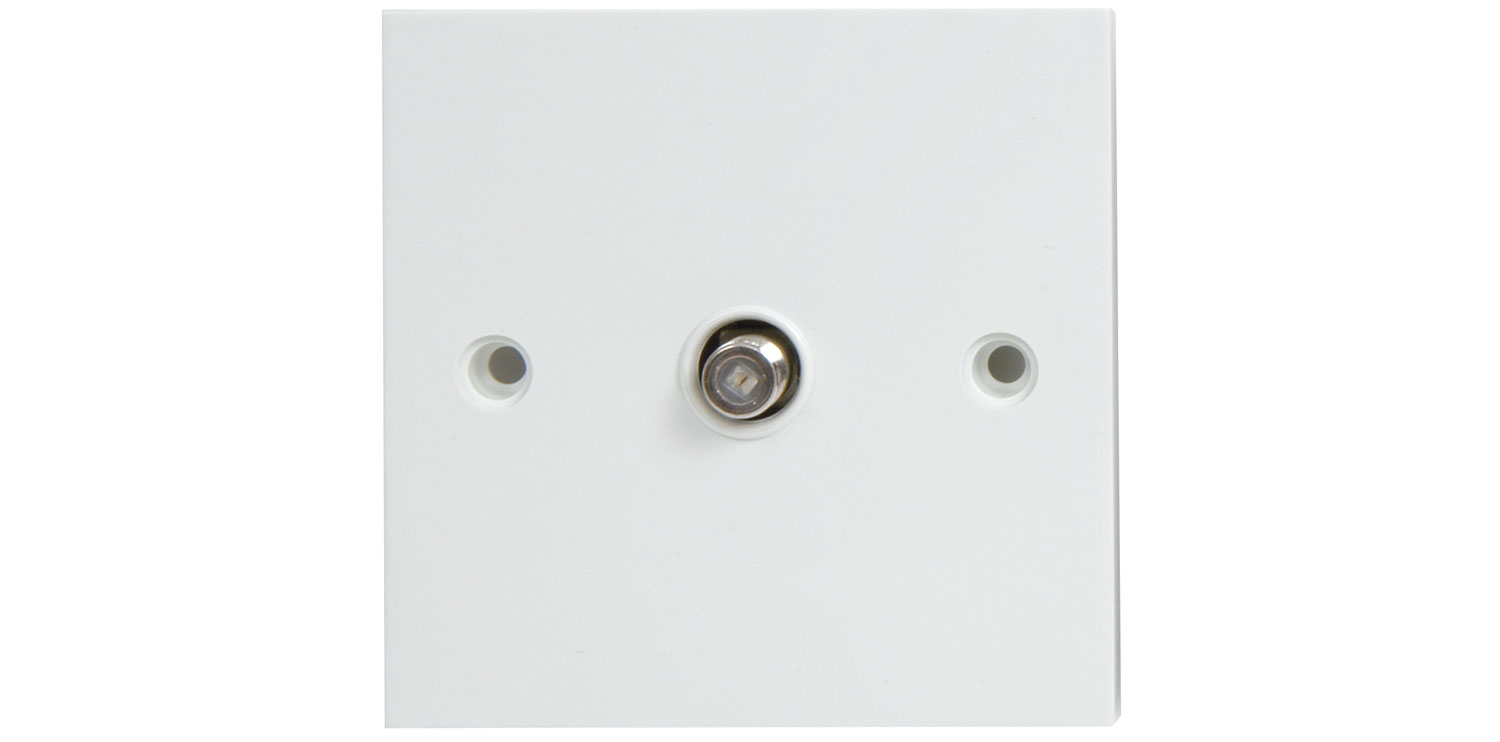 Wallplate Isolated SAT Blister