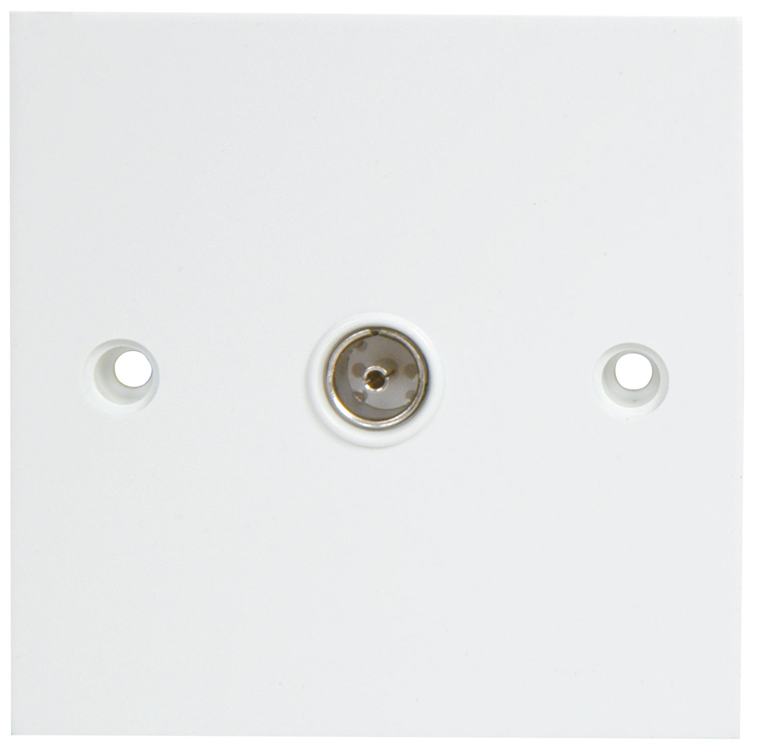 Wallplate TV Plastic Blister