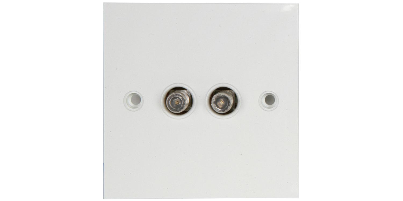 BA50 Double F flush outlet