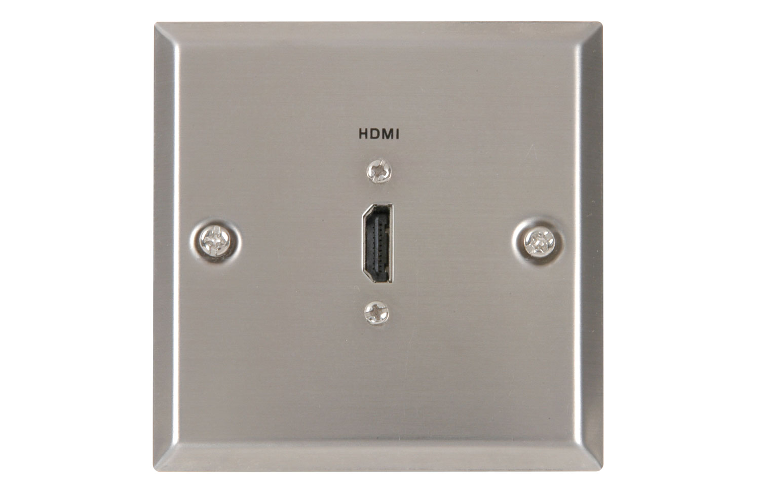 Wallplate 1HDMI Steel