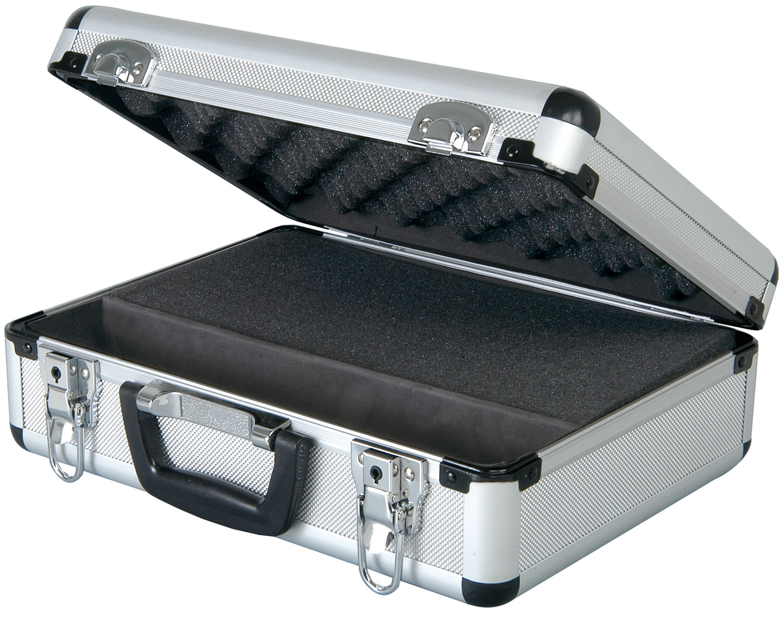 Microphone flight case.