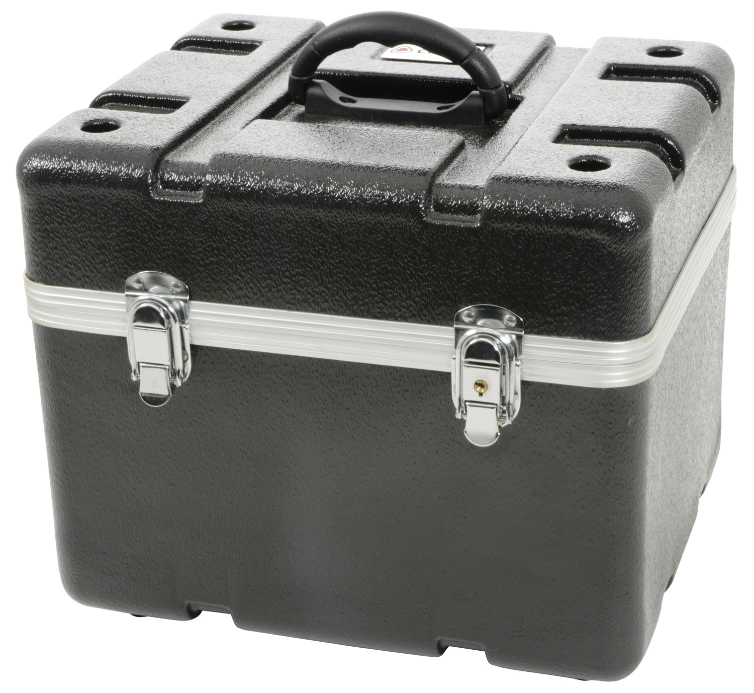 ABS 12 microphone flight case