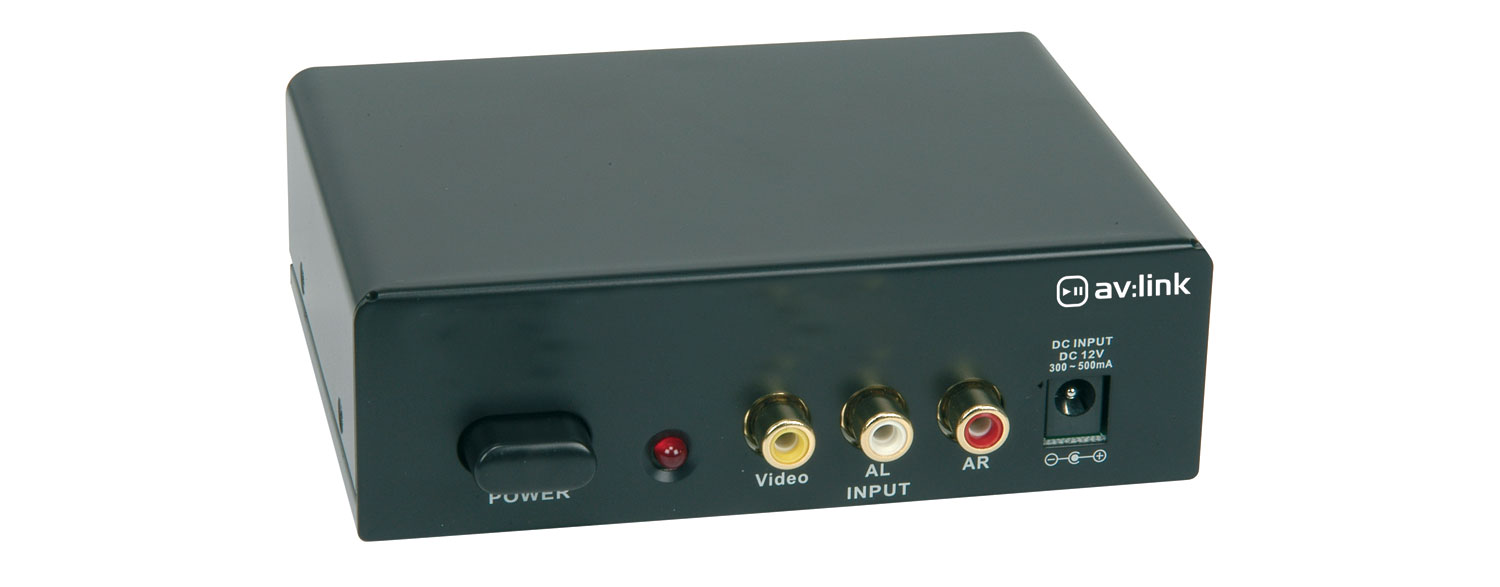 4-Way A/V distribution amplifier