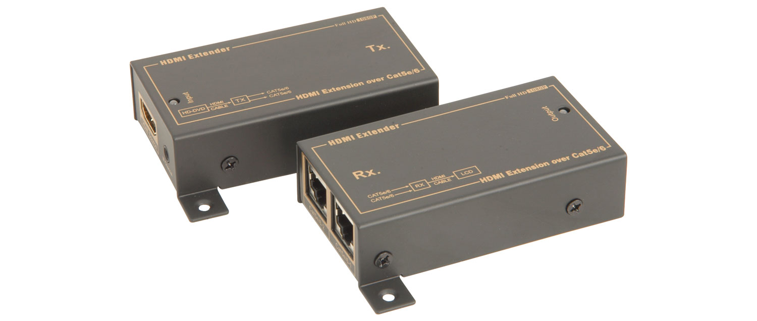 HDMI Cat5 Extender TX+RX Set