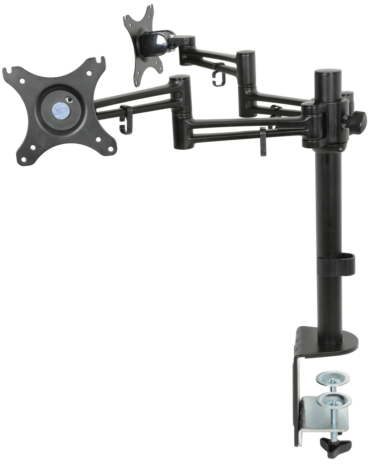 avlink Dual Monitor Desk Mount with Extension Arms
