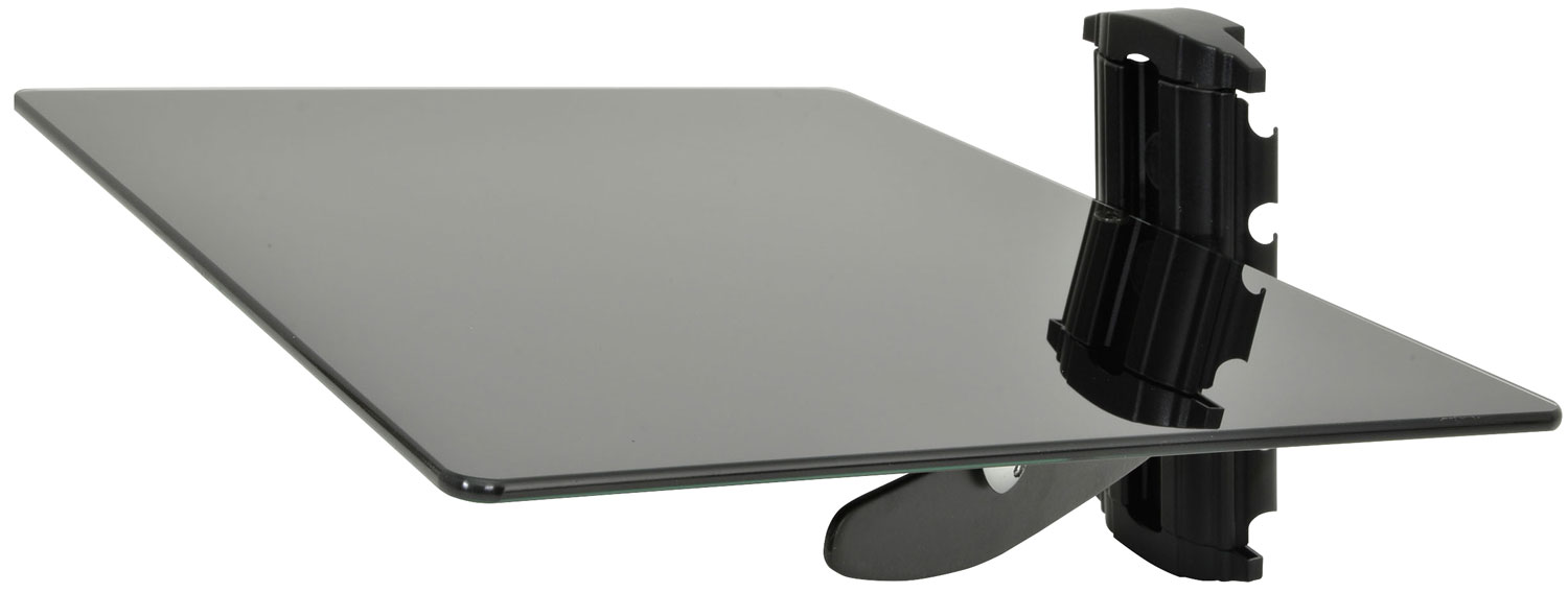 Height adjustable DVD bracket