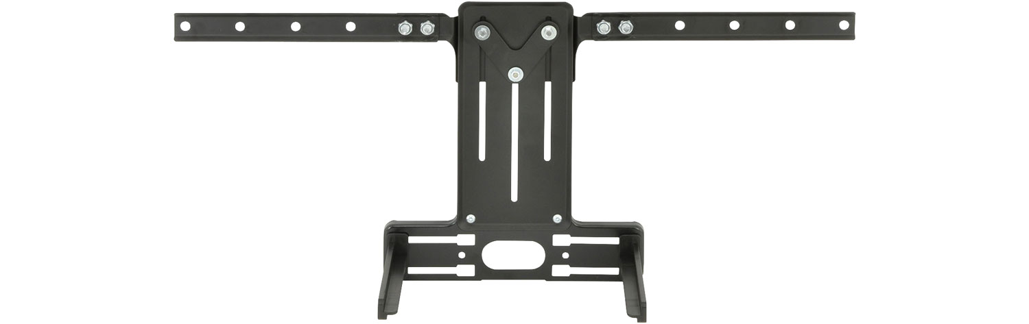 DVD bracket adaptor for TV bracket