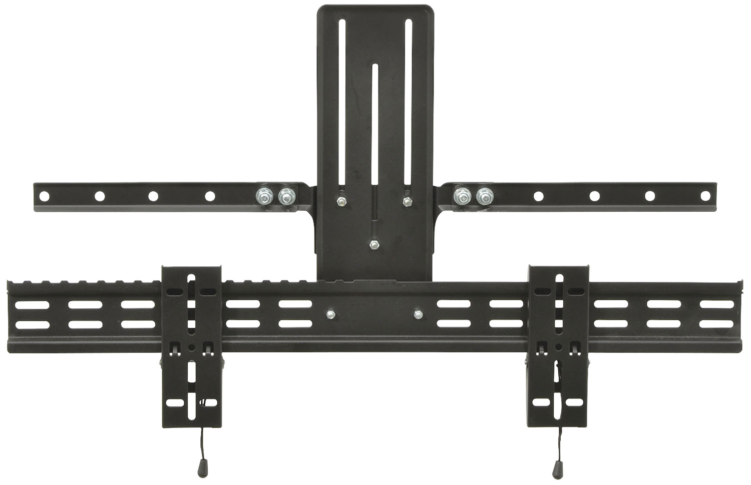 Soundbar bracket adpator for TV bracket