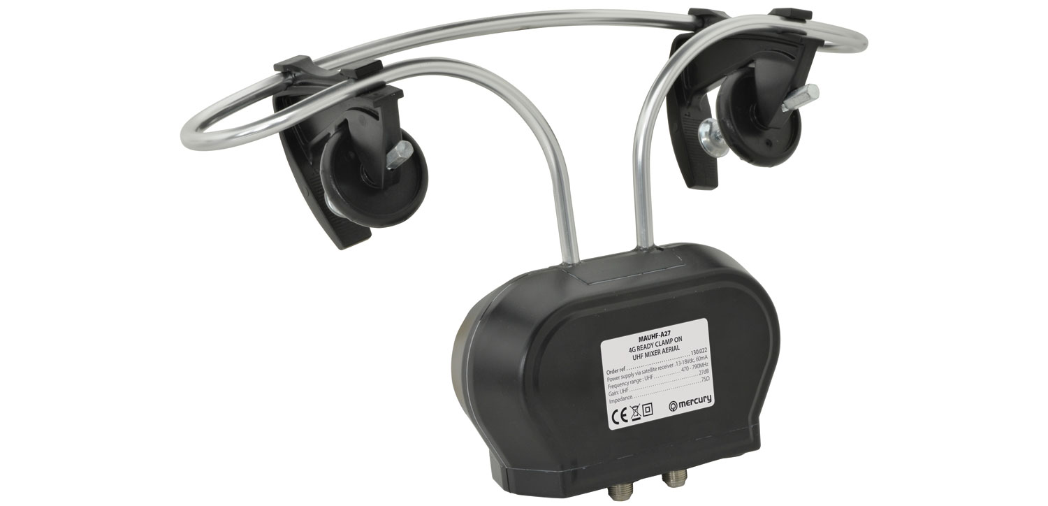 130022 4G Ready Clamp On UHF Mixer Aerial 1 Input