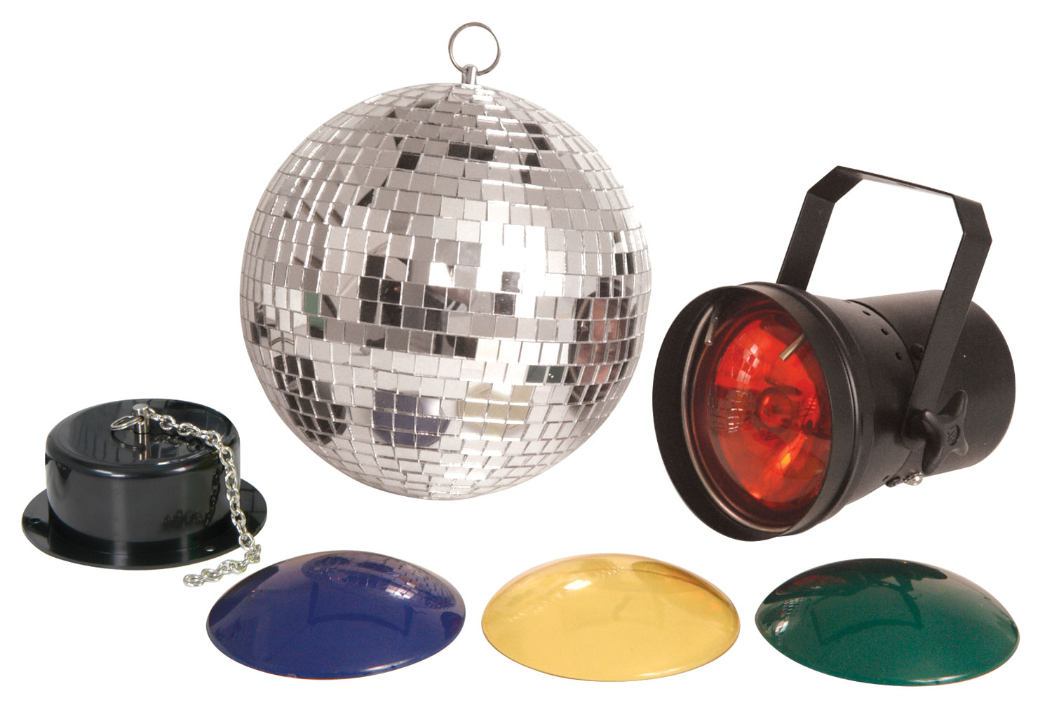 (UK version) Disco set 2 with 20cm mirrorball