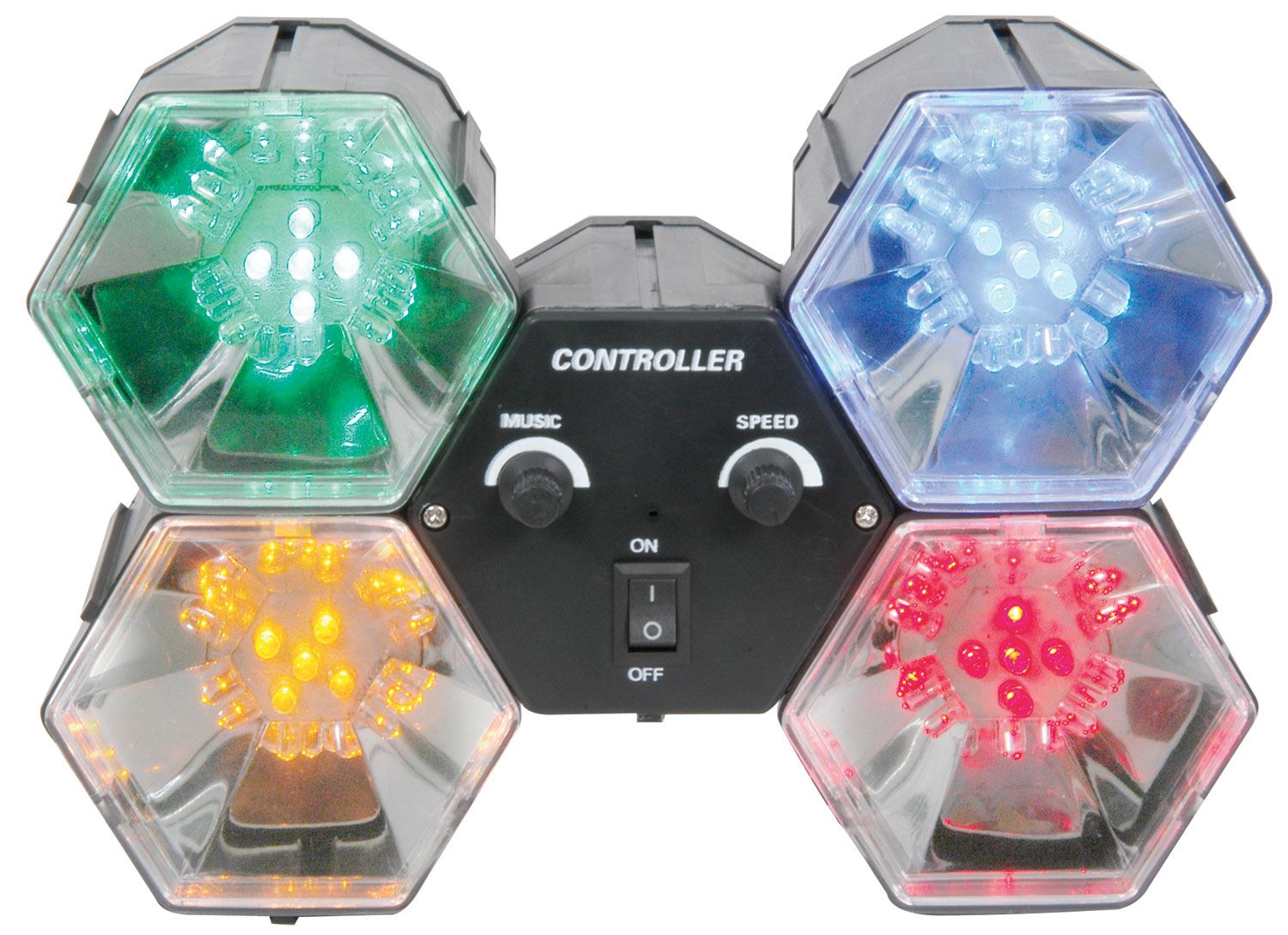 (UK version) 4-WAY LED LIGHTS