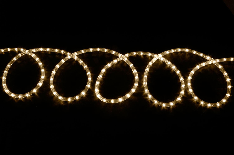 LED rope light set 10m - cool white (5000-5500K)