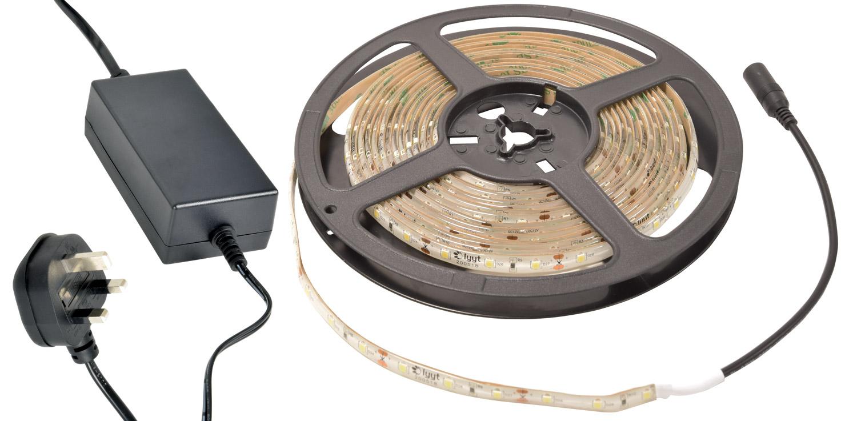 Amber DIY LED tape kit 5m