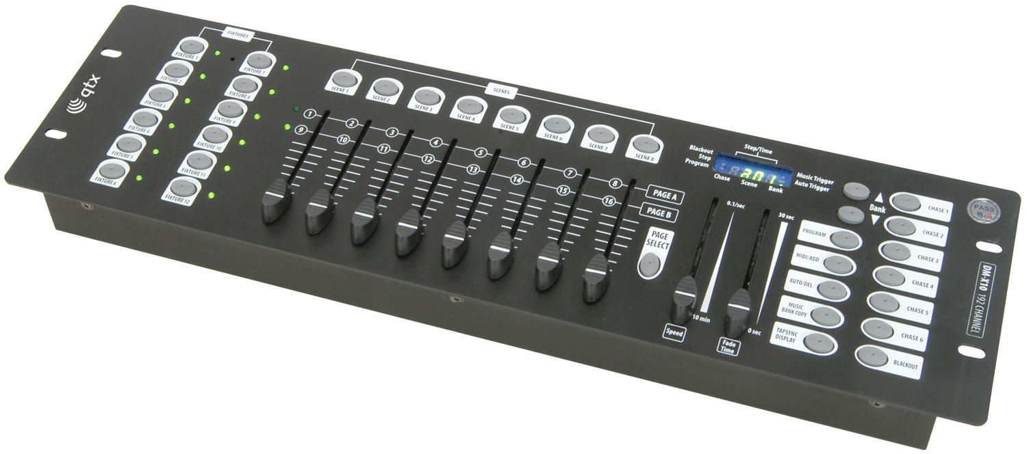 DM-X10 192 Channel DMX controller