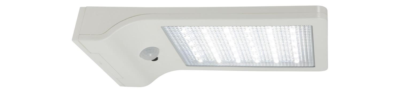 Solar LED Motion Sensor Security Light White
