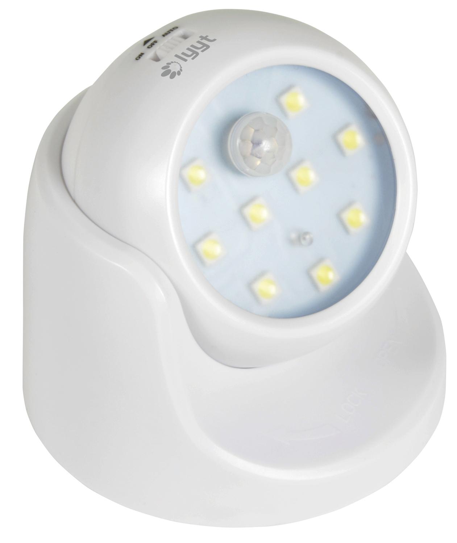 LED Motion Sensor Light White