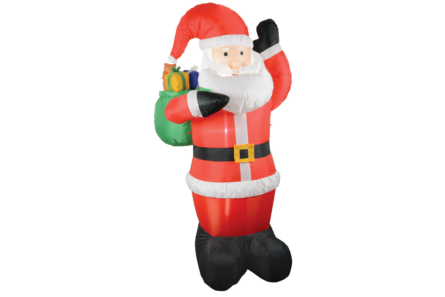 Inflatable 6ft Santa With Gifts