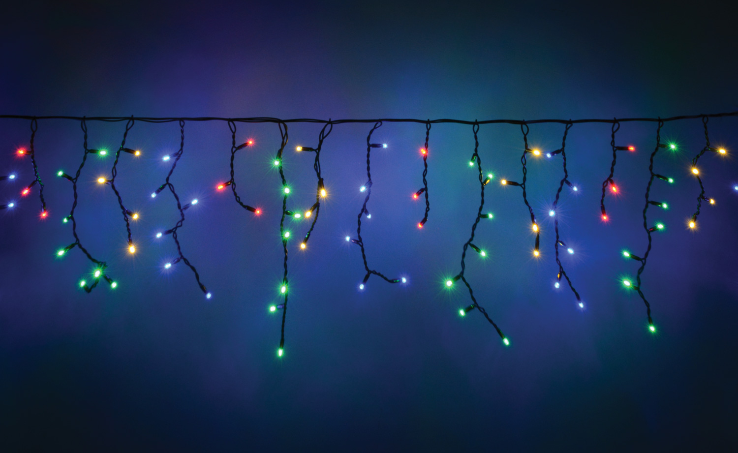 100 LED Connectable Icicle String Light MC