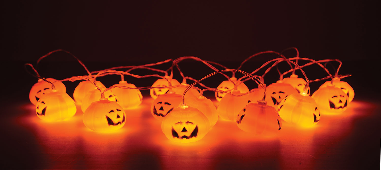 Halloween String Lights Indoor : AVSL : Product : Domestic Lighting : Decorative : Indoor : 155.528UK