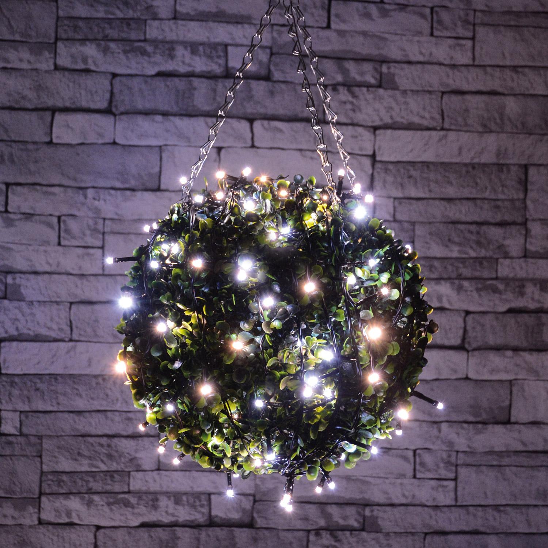 40 LED Battery String Light Cool White
