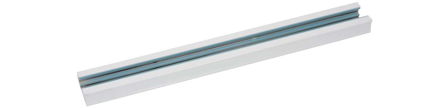 3-pole Lighting Track 2m White