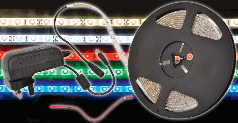 3m LED Tape Kit - warm white