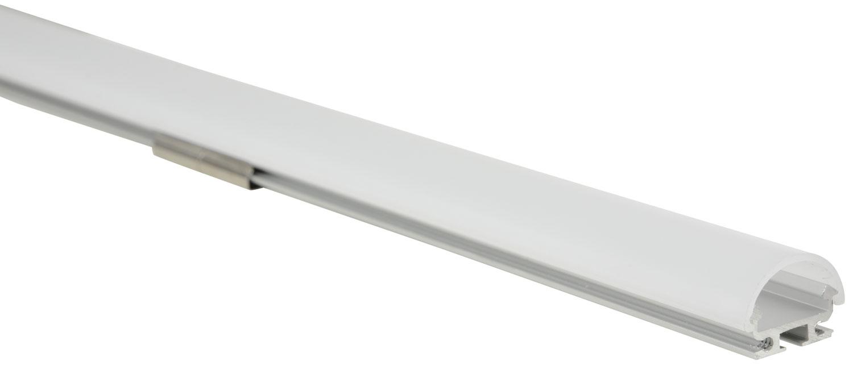 Alu LED Profile - D Section 2m