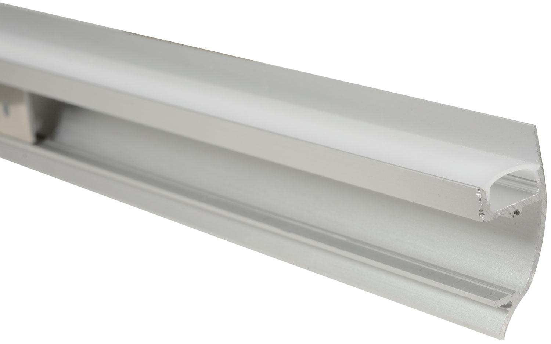 Alu LED Profile - Dado Rail 2m