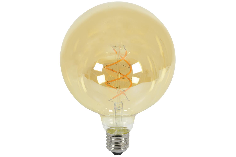 G125 Spiral LED Filament Lamp E27 5W